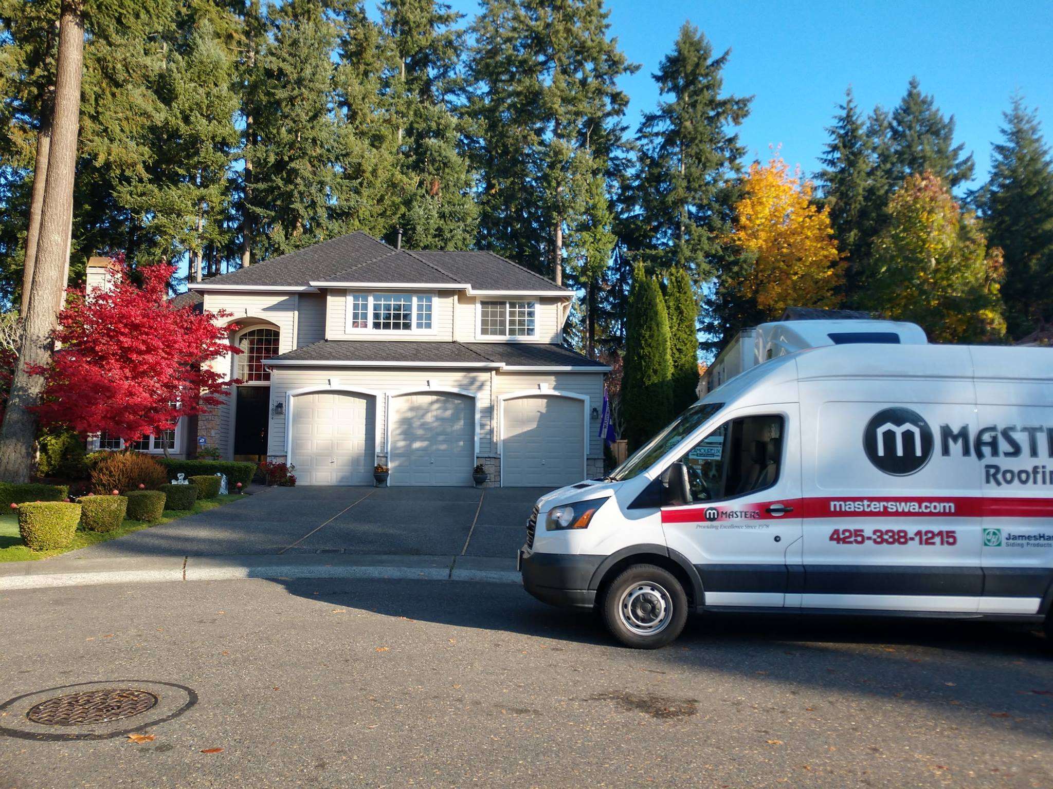 masters van and house