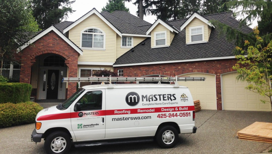 masters roof and van