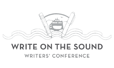 write on the sound logo