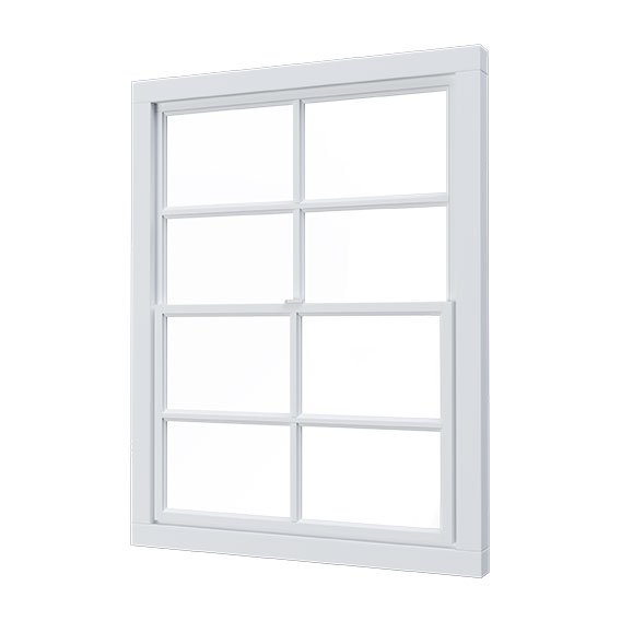 ouble hung window