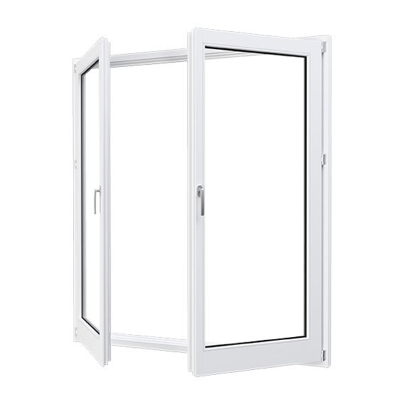 hinger fiberglass patio window